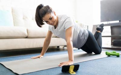 Exercícios na quarentena: seus joelhos agradecem