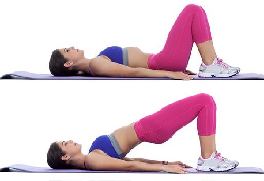 Elevações pélvicas são simples de fazer e ótimas para ativar a musculatura do assoalho pélvico e os glúteos. Dentre as variações, estão os exercícios isométricos (onde ficamos parados num intervalo de tempo) e a versão com apoio sobre uma das pernas (unilateral).