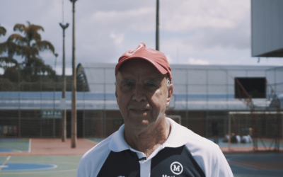 A coragem de Adilson e o amor pelo esporte